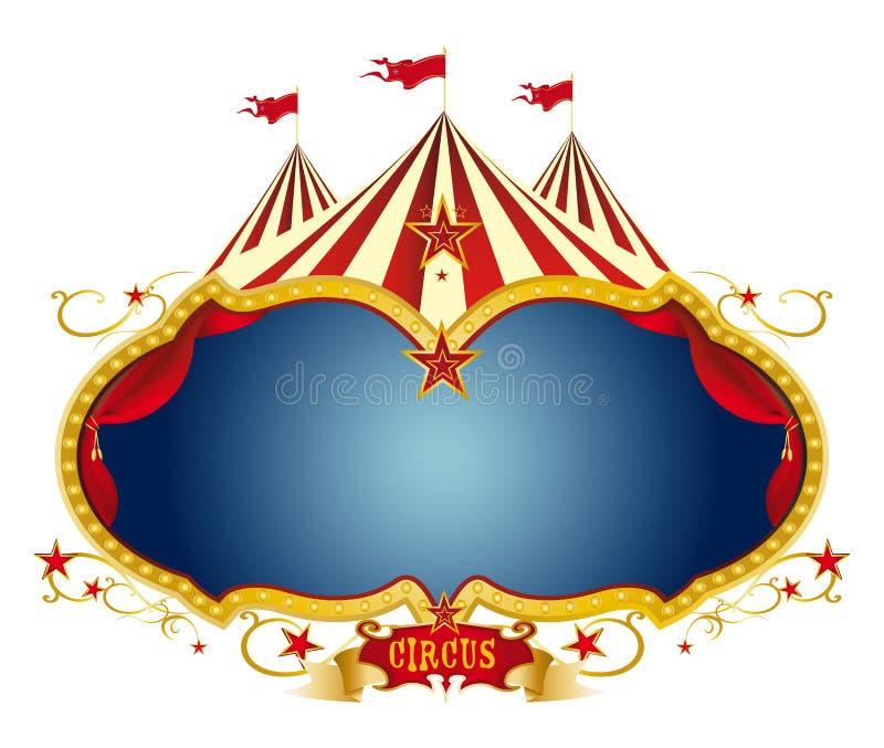Het circus van het teken vector illustratie