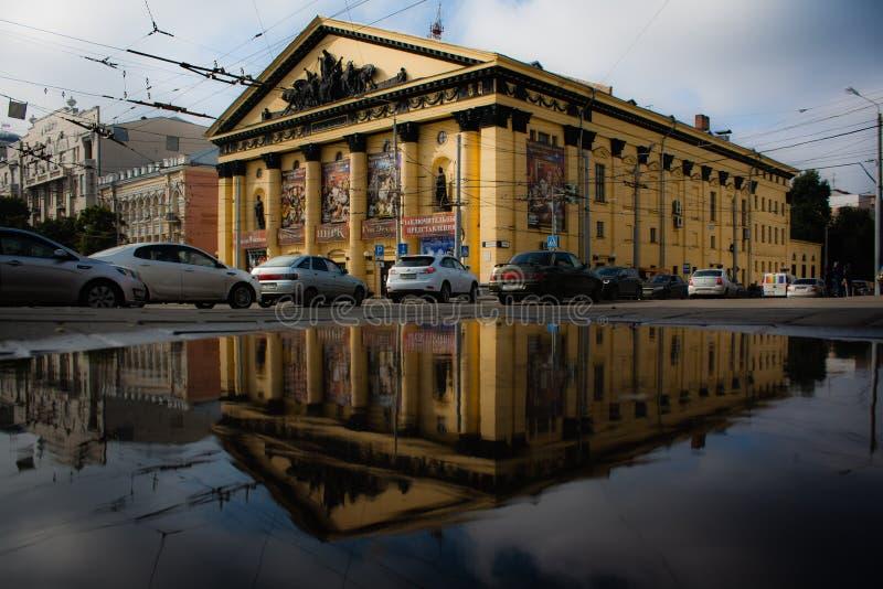 Het circusgebouw rostov-op-trekt binnen aan royalty-vrije stock fotografie
