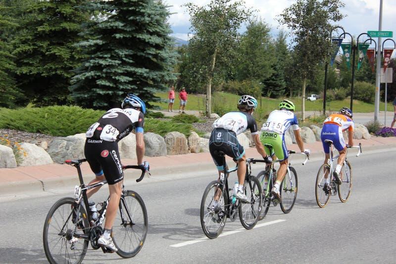 Het Cirkelen van de V.S. PROStadium 5 van de Uitdaging fietsers royalty-vrije stock fotografie