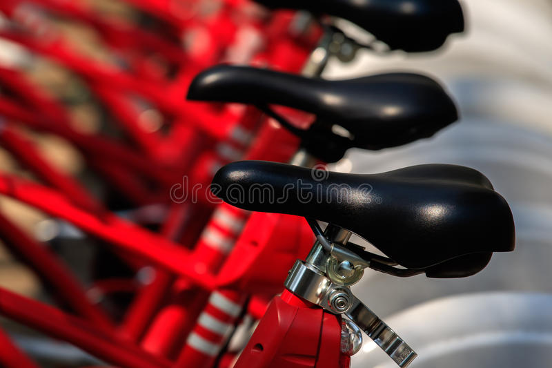 Het close-up van het fietsendetail stock foto's