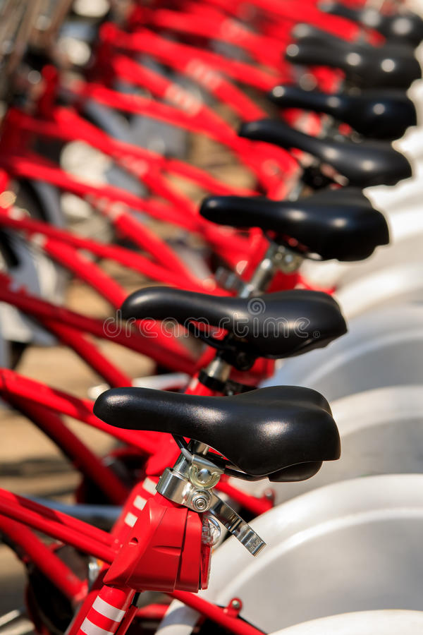 Het close-up van het fietsendetail royalty-vrije stock afbeeldingen