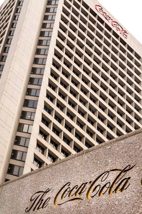 Het Coca-Cola-hoofdkwartier van het Bedrijf stock foto's