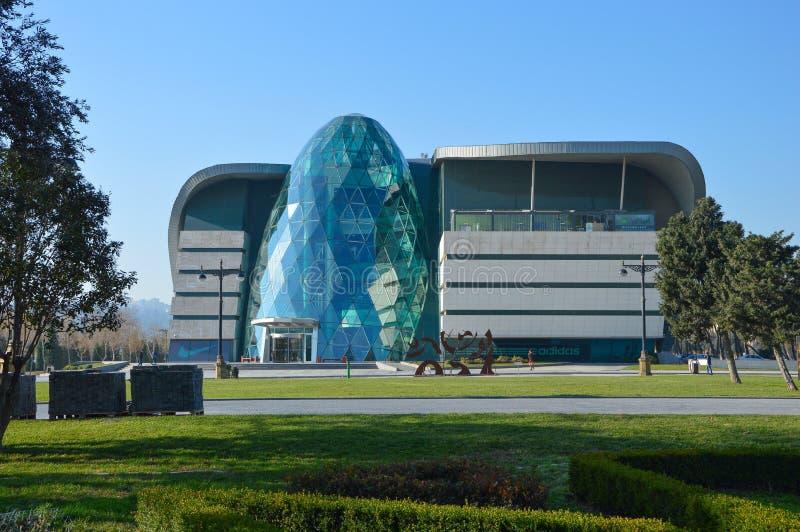 Het commerciële centrum - Park Bulvar stock foto