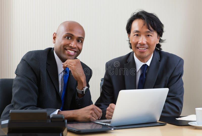 Het commerciële Portret van het Team royalty-vrije stock afbeeldingen