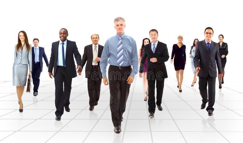 Het commerciële team gaan