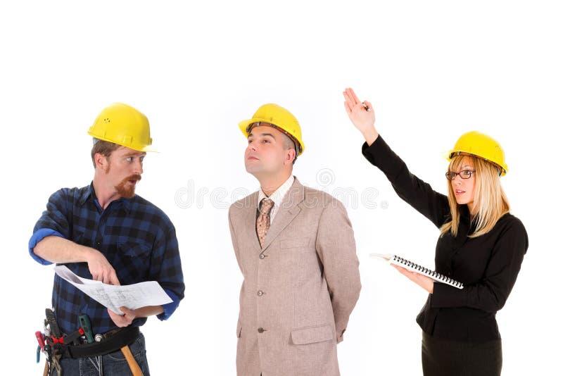 Het commerciële teamwerk stock foto's