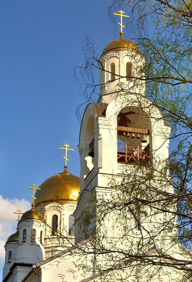 Het complex van Orthodoxe kerken royalty-vrije stock foto's