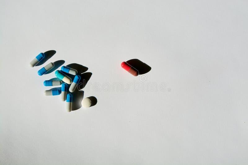 Het concept drugbehandeling van onvruchtbaarheid stock foto's