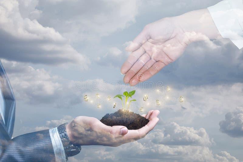 Het concept efficiënte de groeifinanciën royalty-vrije stock afbeeldingen
