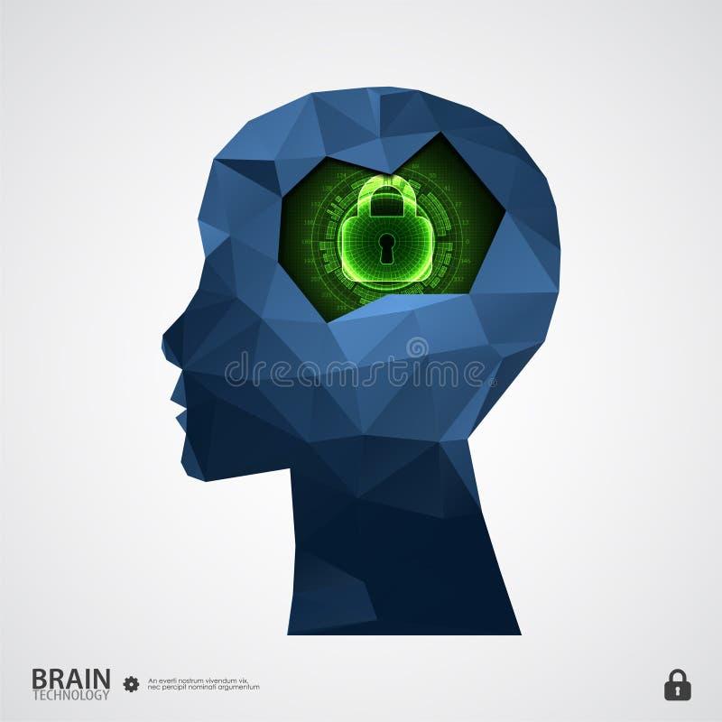 Het concept intellectuele eigendombescherming stock illustratie