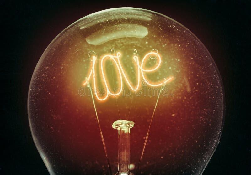Het concept liefde stock foto's