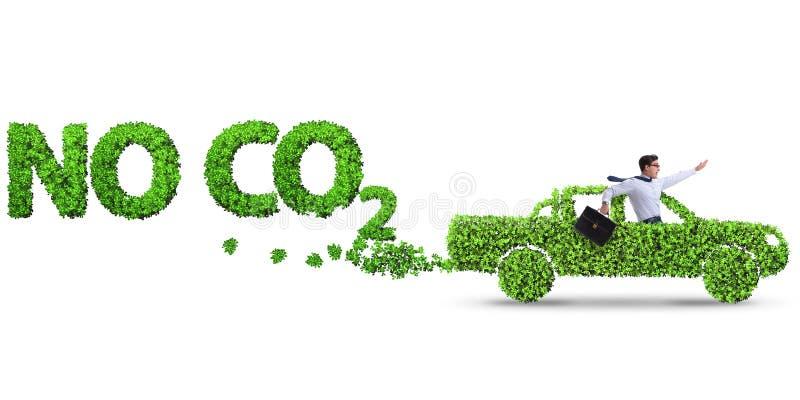 Het concept schone brandstof en eco vriendschappelijke auto's royalty-vrije stock fotografie
