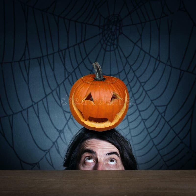 Het concept vakantie Halloween royalty-vrije stock afbeeldingen