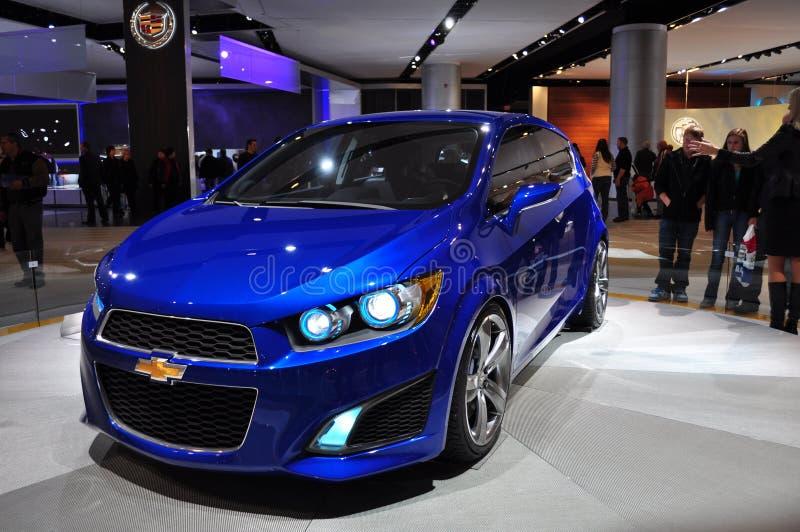 Het Concept van Aveo RS van Chevrolet stock afbeeldingen