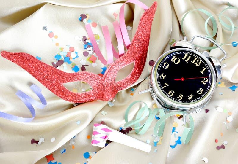 De tijdconcept van Carnaval stock fotografie