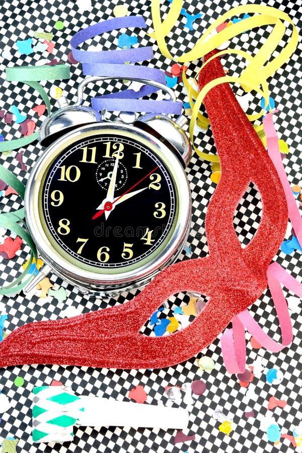 De tijdconcept van Carnaval stock afbeeldingen