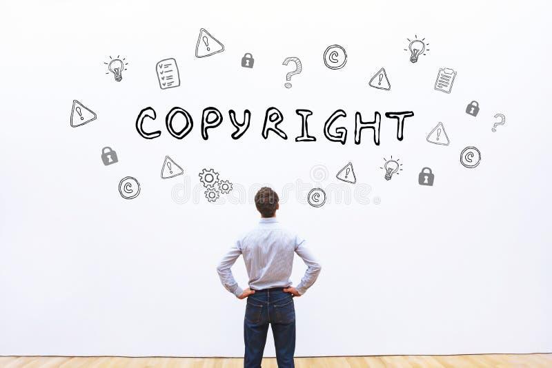 Het concept van Copyright royalty-vrije stock foto
