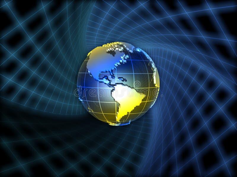 Het concept van de aarde vector illustratie