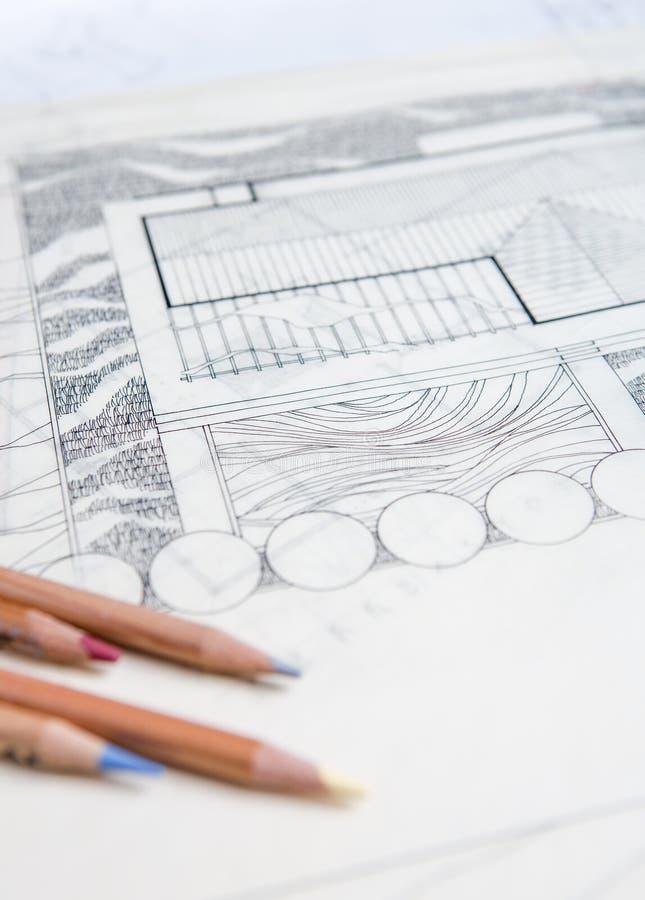 Het Concept van de architectuur royalty-vrije stock foto