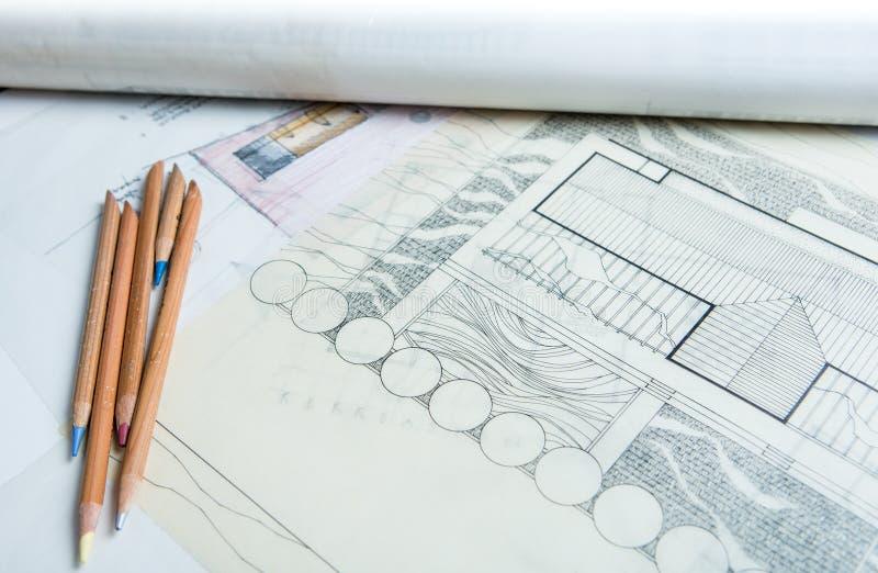 Het Concept van de architectuur royalty-vrije stock afbeeldingen