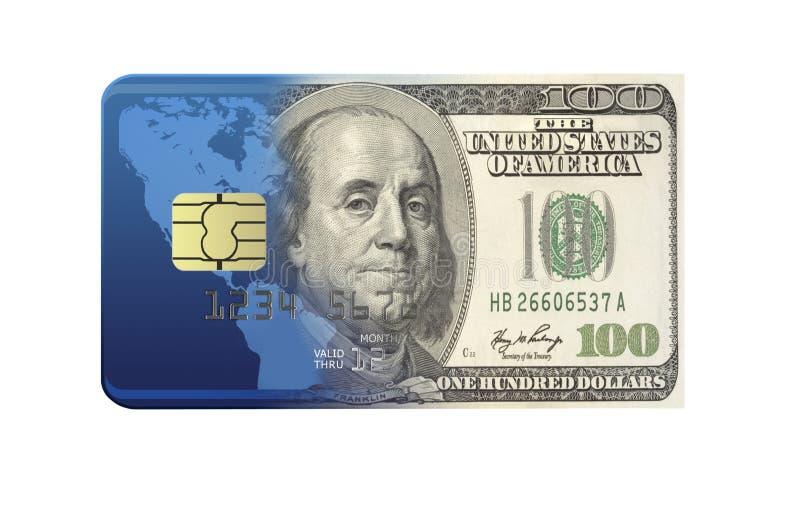 Het Concept van de bankkaart stock fotografie