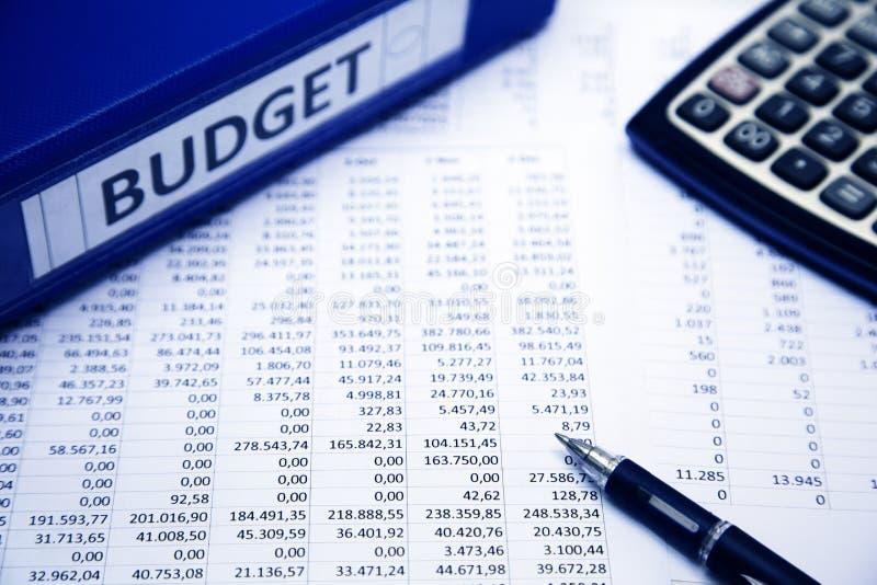 Het concept van de begroting royalty-vrije stock afbeelding