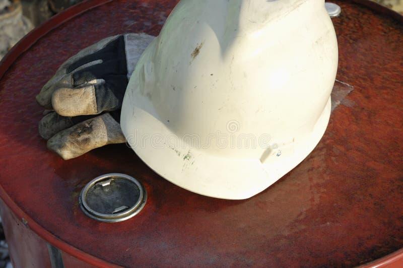 Het concept van de bouwvakker stock afbeelding