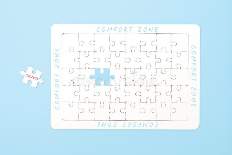 Het concept van de comfortstreek royalty-vrije stock afbeelding