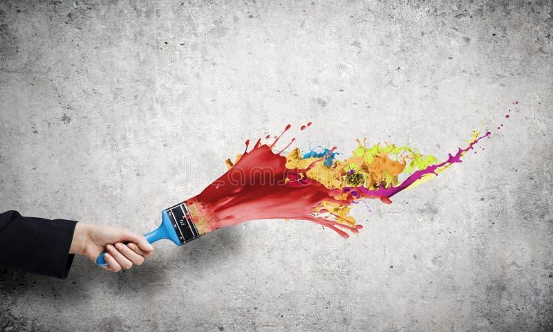 Het concept van de creativiteit stock foto