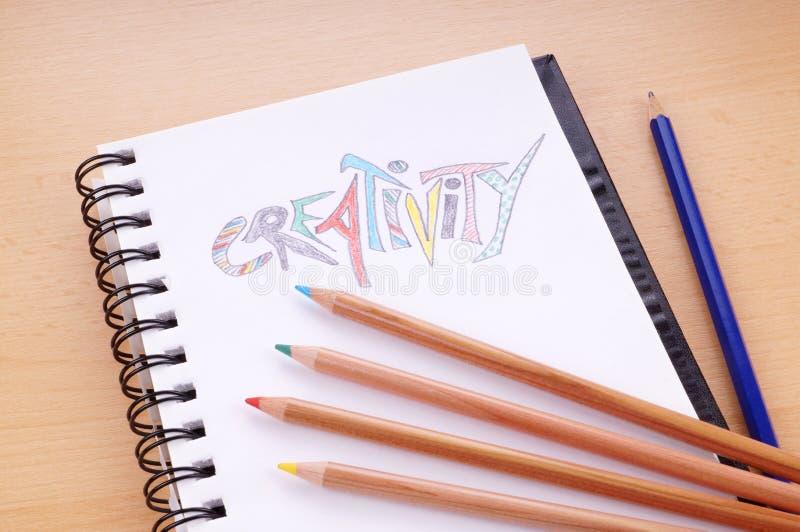Het concept van de creativiteit stock fotografie
