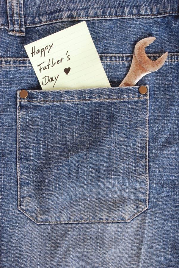 Het concept van de Dag van vaders stock afbeeldingen