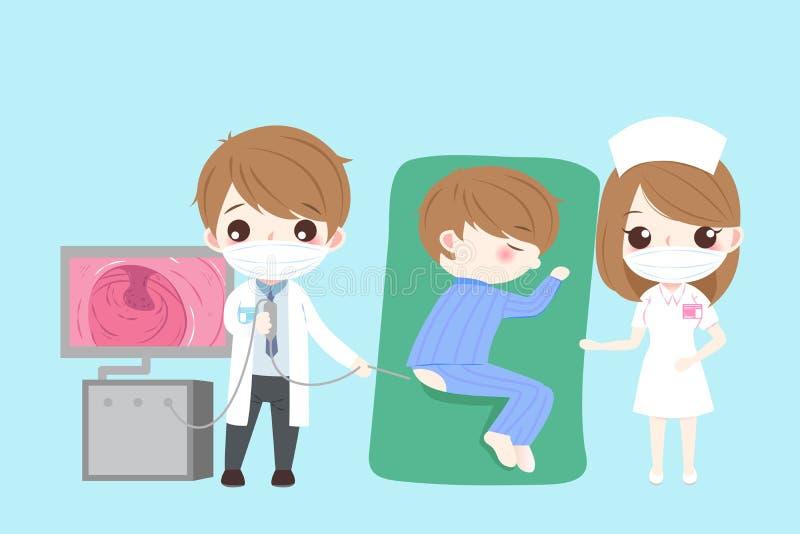 Het concept van de darmgezondheid vector illustratie