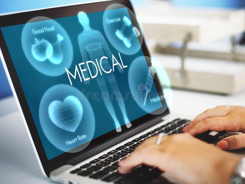Het Concept van de de Vitaliteitsgezondheidszorg van Wellness van het gezondheidswelzijn royalty-vrije stock foto