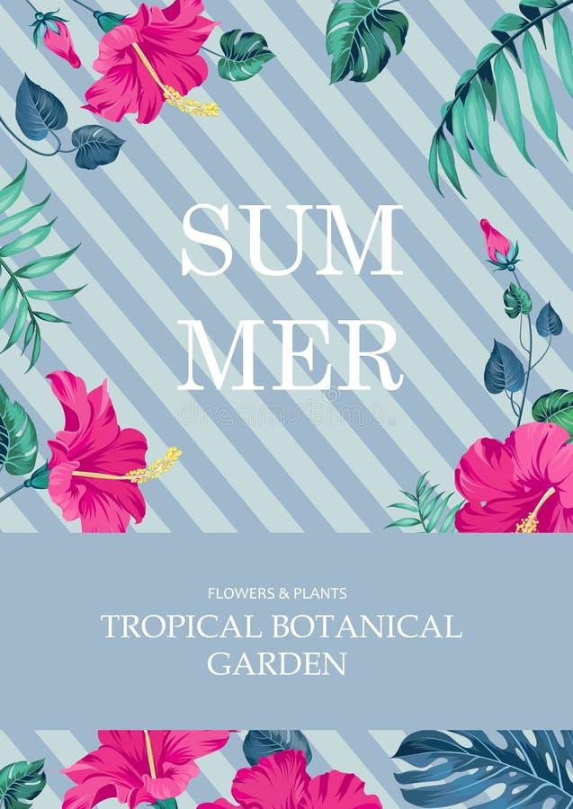Het concept van de de zomertijd royalty-vrije illustratie