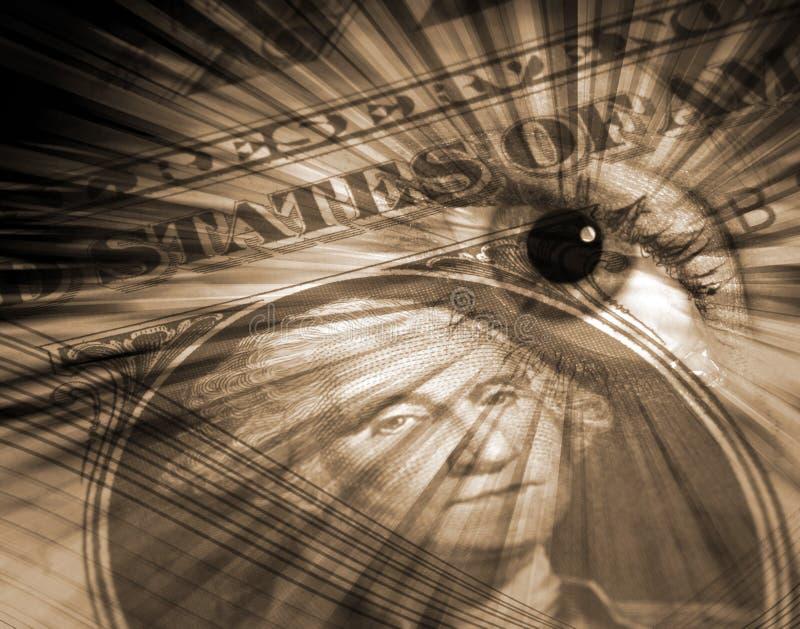 Het concept van de Dollar van de V.S. vector illustratie