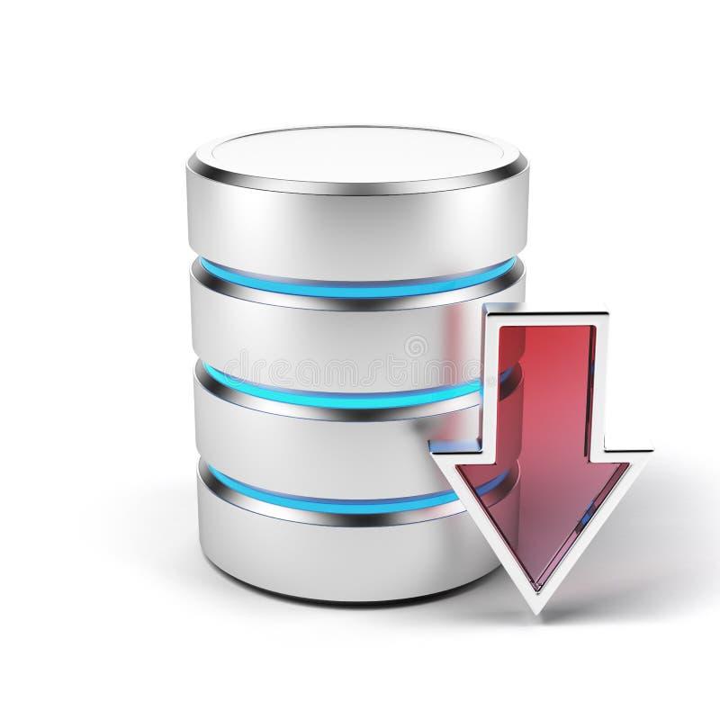 Het concept van de download vector illustratie