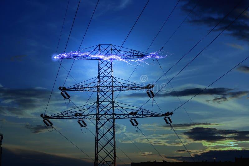 Het concept van de elektriciteit royalty-vrije stock afbeeldingen