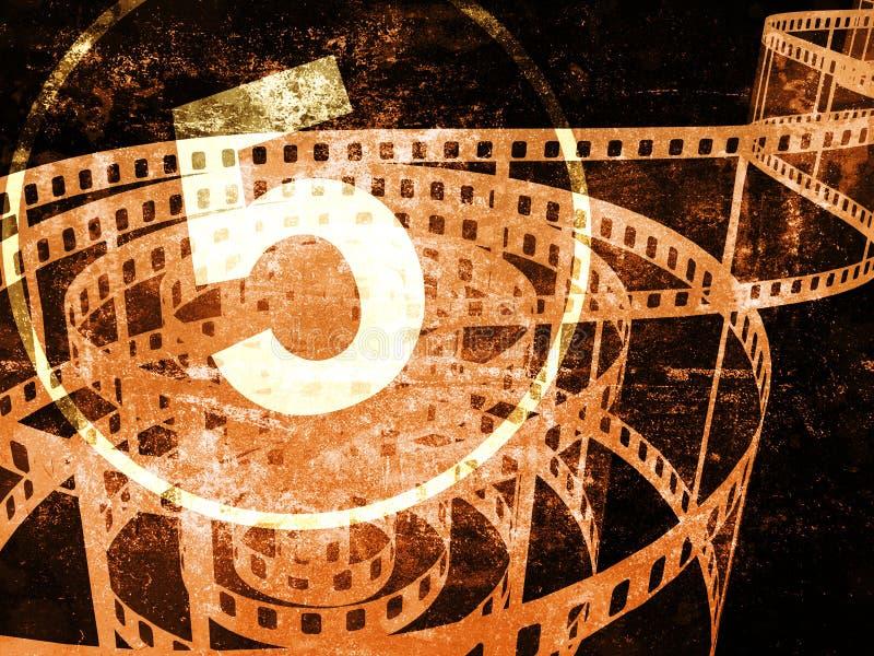 Het concept van de film vector illustratie