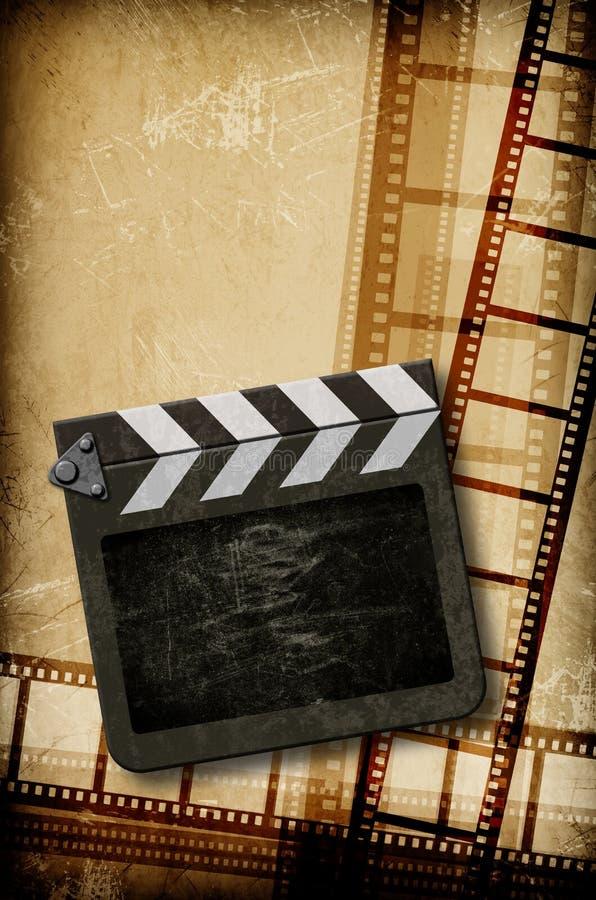 Het concept van de film stock illustratie