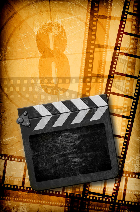 Het concept van de film royalty-vrije illustratie