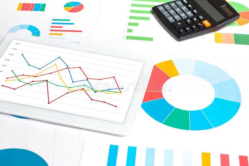Het Concept van de gegevensanalyse royalty-vrije stock foto's