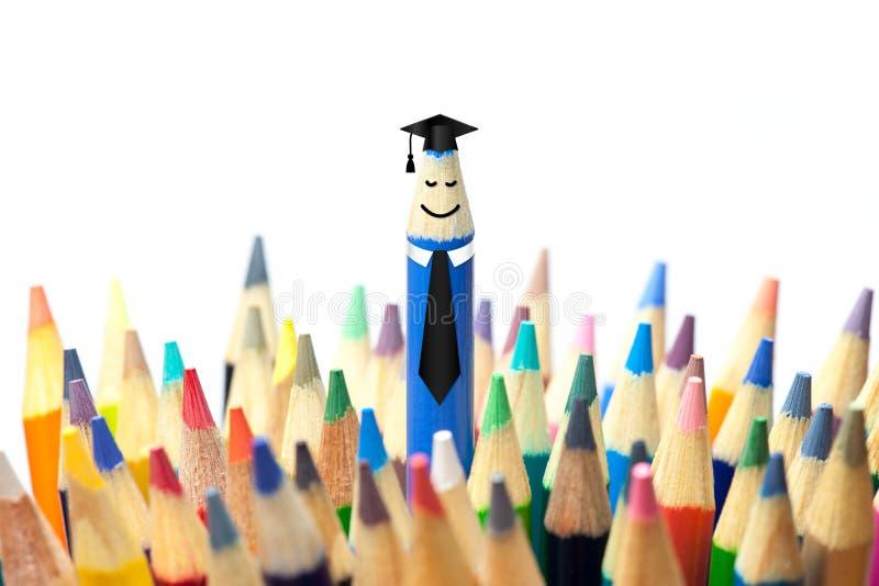 Het Concept van de graduatiepartij stock foto's