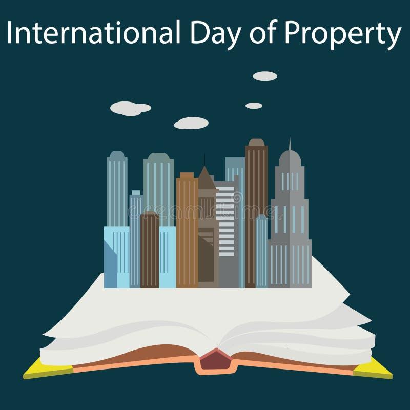 Het concept van de intellectuele eigendomdag stock illustratie