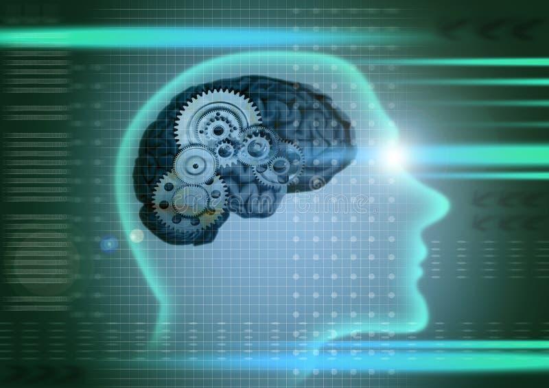 Het concept van de intelligentie stock illustratie