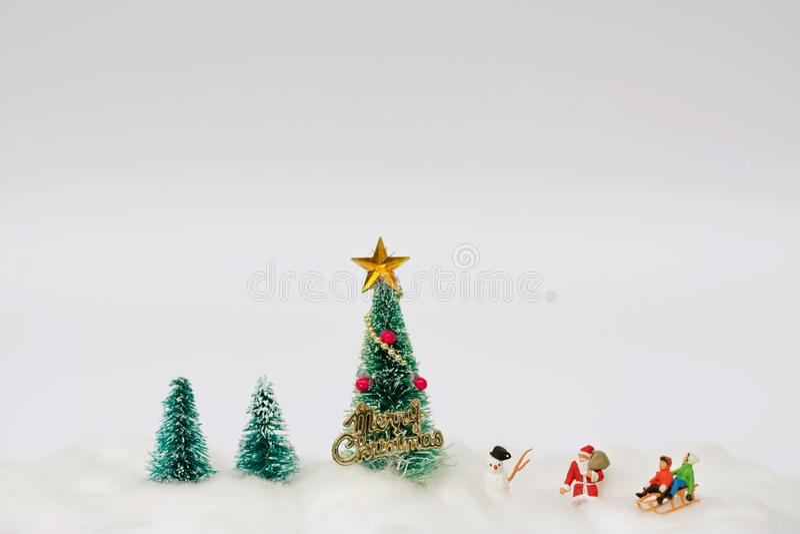 Het Concept van de Kerstmisdecoratie stock afbeelding