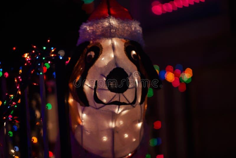 Het Concept van de Kerstmisdecoratie De traditie van de de wintervakantie stock afbeelding
