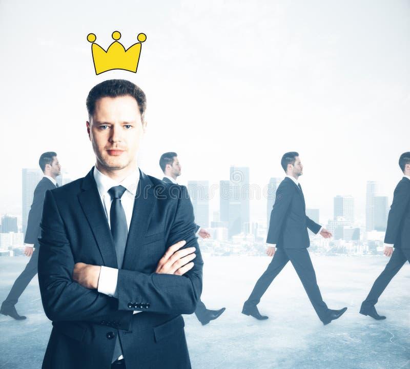 Het concept van de leider stock afbeelding
