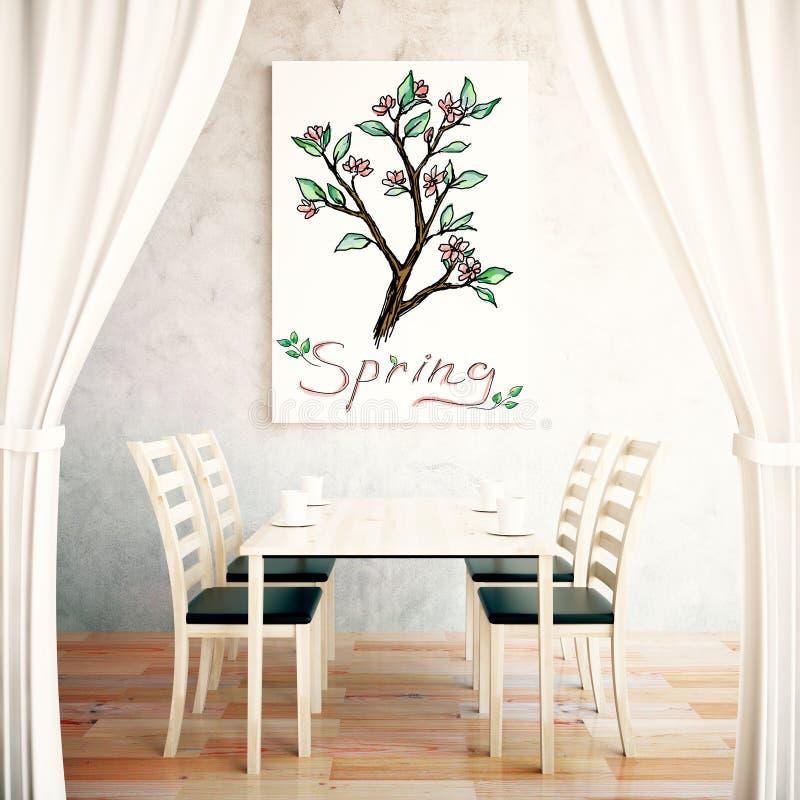 Het concept van de lente royalty-vrije illustratie