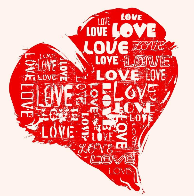 Het concept van de liefde vector illustratie