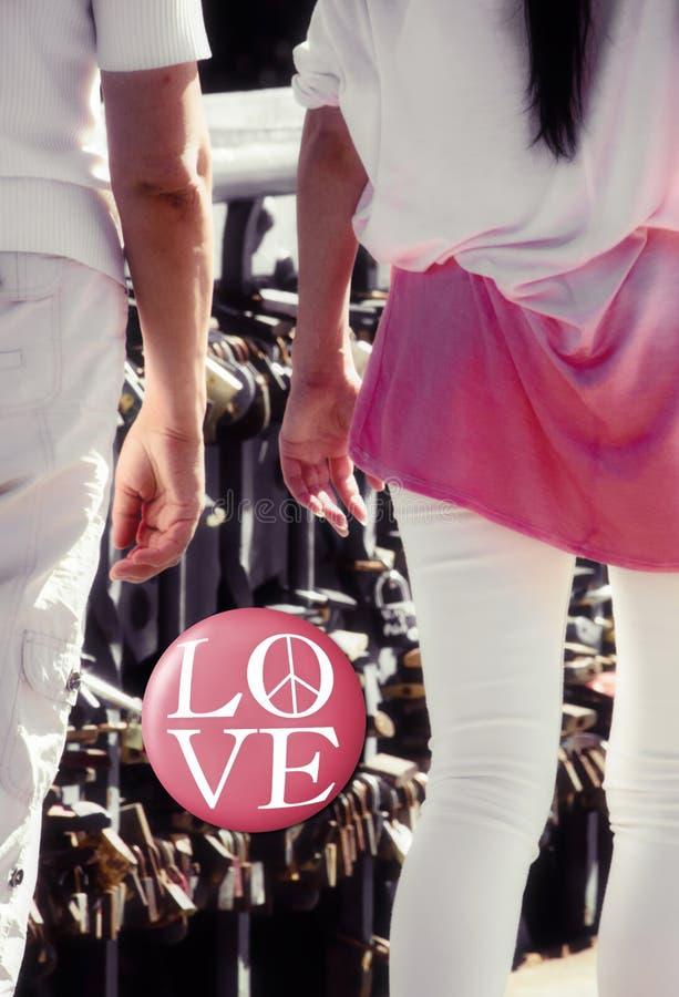 Het concept van de liefdekern royalty-vrije stock foto